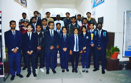 गिट्स के १९ विद्यार्थियों का प्रमुख मेनुफेक्चरिंग कम्पनी पेसिफिक इण्डस्ट्रीज लिमिटेड में चयन