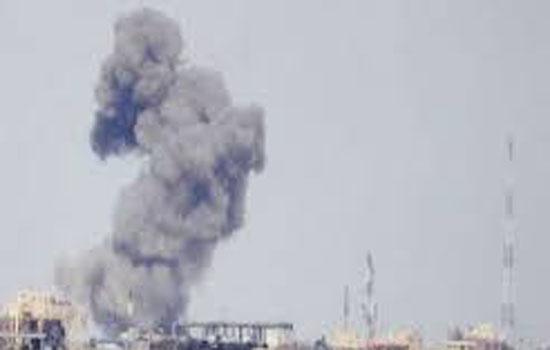 रॉकेट हमले में कम से कम दो नागरिकों की मौत