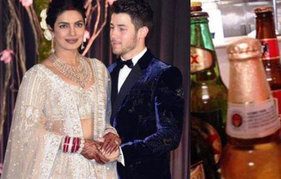 निक-प्रियंका की शादी मेंबीयर कम पड़ गई थी