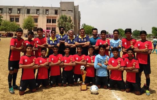 डीएवी एचजेडएल स्कूल ने जीता यू-17 सुब्रतो कप क्वालीफायर टूर्नामेंट