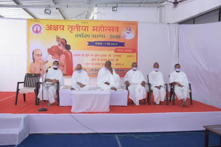 भगवान ऋषभ के वर्षीतप की परंपरा का निर्वहन है अक्षय तृतीया : मुनि सुरेश कुमार