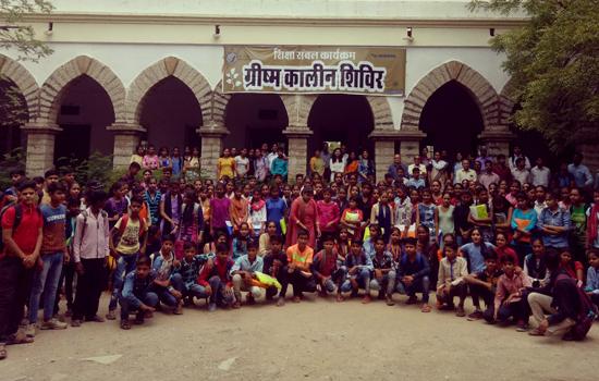 हिन्दुस्तान जिंक के शिक्षा संबंल कार्यक्रम में इस वर्श लाभान्वित हो रहे १४०० विद्यार्थी