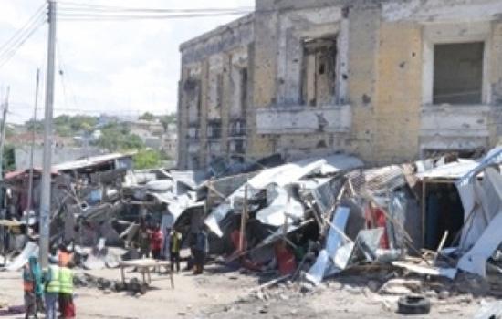 मोगादिशु में कार बम विस्फोट में 4 की मौत