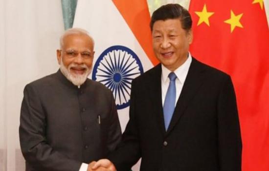 भारत और चीन एक-दूसरे के लिए खतरा नहीं है