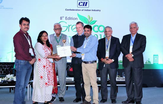 HindustanZinc receives  6th CII environmental best practices award 2019