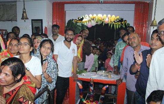 भक्तों ने मनाया  कालकामाता का जन्मोत्सव