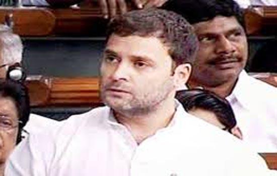 राहुल ने उठाया किसानों का मुद्दा