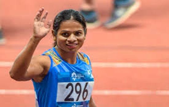 विश्व यूनिवर्सिटी खेलों में स्वर्ण जीता दुती ने