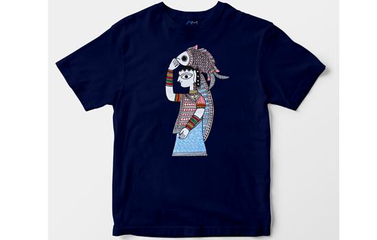 Alma Mater launches Exclusive Madhubani Art Design T-Shirts