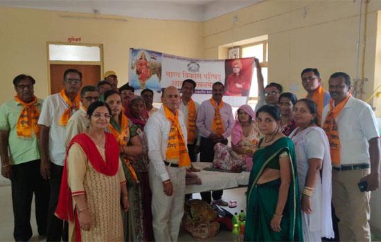 भारत विकास परिषद का स्थापना दिवस कन्या जन्मोत्सव के रूप में मनाया गया