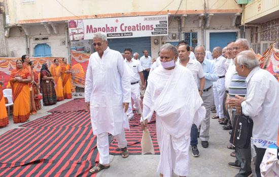 संजय मुनि-प्रकाश मुनि महाप्रज्ञ विहार में तो प्रसन्न मुनि-धैर्य मुनि का तेरापंथ भवन में प्रवेश