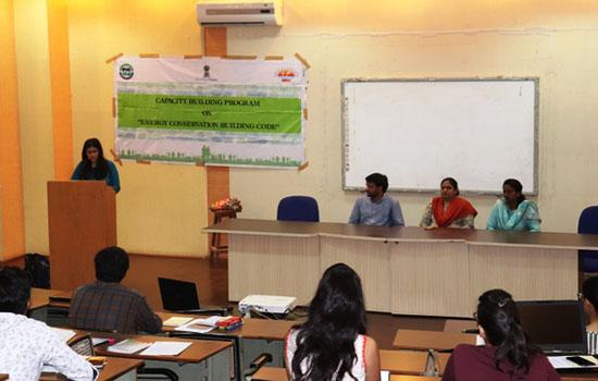 """""""एनर्जी कर्न्सवेटिव बिल्डिंग कोड"""" विषय पर दो दिवसीय कार्यशाला आयोजित"""