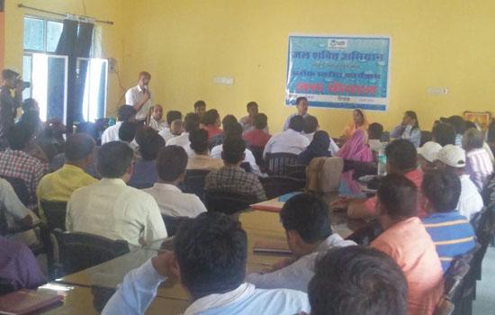 केन्द्रीय टीम ने छबड़ा में जल संरक्षण के कार्यों का किया अवलोकन