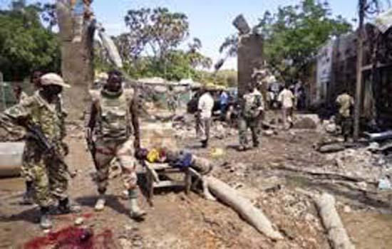 आंतकवादी हमला सोमालिया के एक होटल में