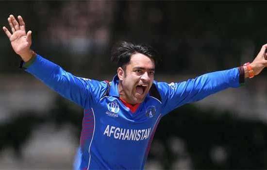 अफगानिस्तान के कप्तान नियुक्त राशिद खान