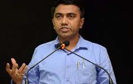 मंत्रिमंडल से चार मंत्रियों को हटाया गोवा के मुख्यमंत्री ने