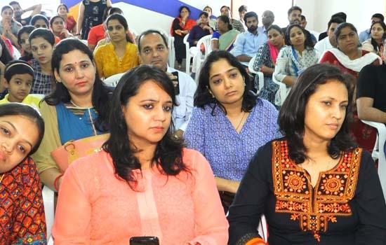 डीपीएस उदयपुर में खसरा रूबैला उन्मूलन हेतु जागरूकता अभियान