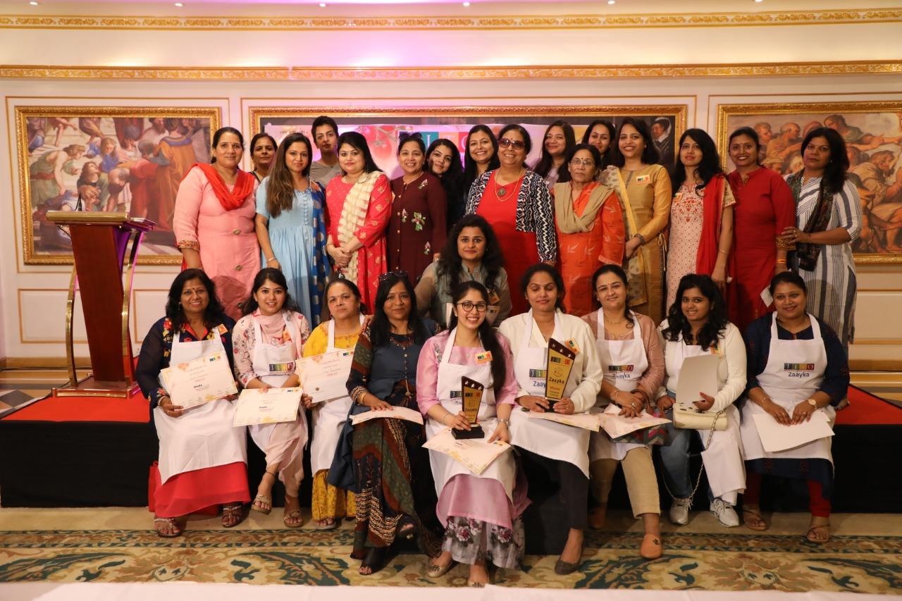 जीतो उदयपुर क्वीन द्वारा कूकिंग कम्पीटीशन 'जायका' आयोजित