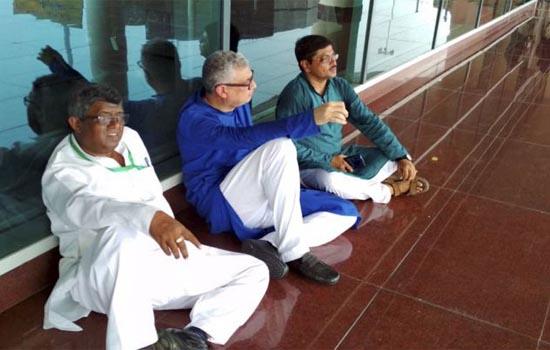TMC नेता हिरासत में