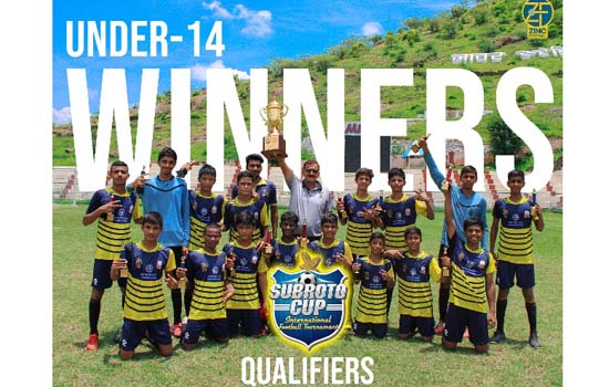 Zinc Football Champions of Subroto Cup Qualifiers