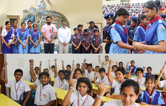 एम.एम.पी.एस. के बच्चों ने श्रद्धा से मनाया करगिल विजय दिवस