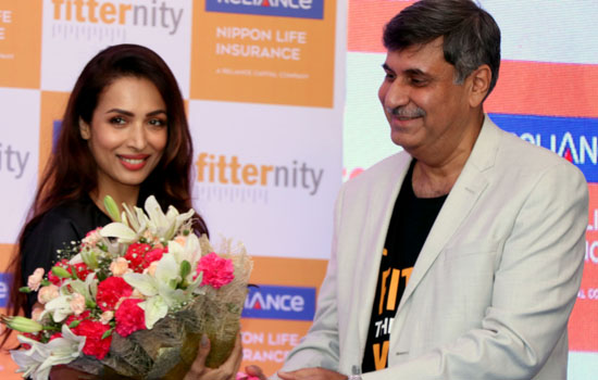 Malaika Arora launched #WalkPeChal campaign an initiative by Reliance Nippon Life Insurance Company.