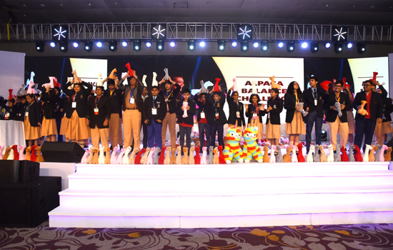 The largest Regional Round of World Scholar's Cup held in India
