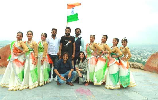 15 अगस्त को देश भक्ति से ओतप्रोत उपकत्थक नृत्य का प्रक्षेपण
