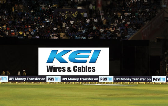 KEI Industries co powers upcoming India- West Indies tour