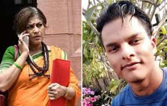 भाजपा सांसद रूपा गांगुली के बेटे ने क्लब की दीवार में मारी टक्कर