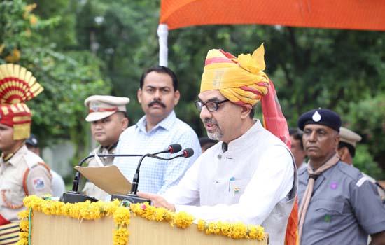 जोधपुर रेल मंडल पर स्वतन्त्रता दिवस समारोह मनाया गया