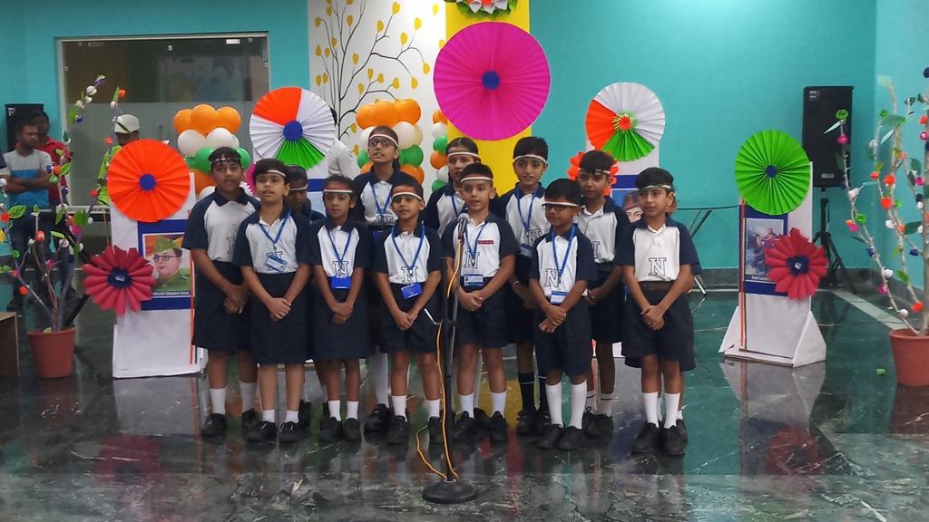 नीरजा मोदी स्कूल में धूमधाम से मना स्वाधीनता दिवस
