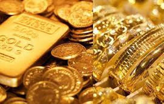 सोना 100 रपए लुढ़का