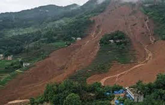 चीन में भूस्खलन का कहर जारी
