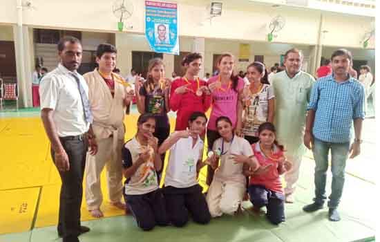 बाड़मेर सब जूनियर और केडेट जूडो टीम ने जीते 10 मैडल, 2 सिल्वर और 8 कास्य पदक