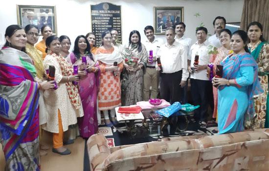 भूपाल नोबल्स पी.जी. महाविद्यालय में शिक्षक दिवस का आयोजन