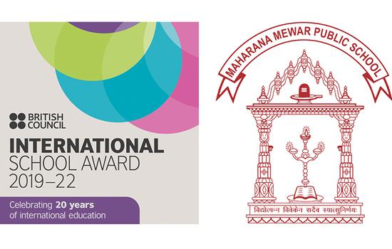 महाराणा मेवाड पब्लिक स्कूल को प्रतिष्ठित इंटरनेशनल स्कूल अवार्ड २०१९-२२ (ISA)