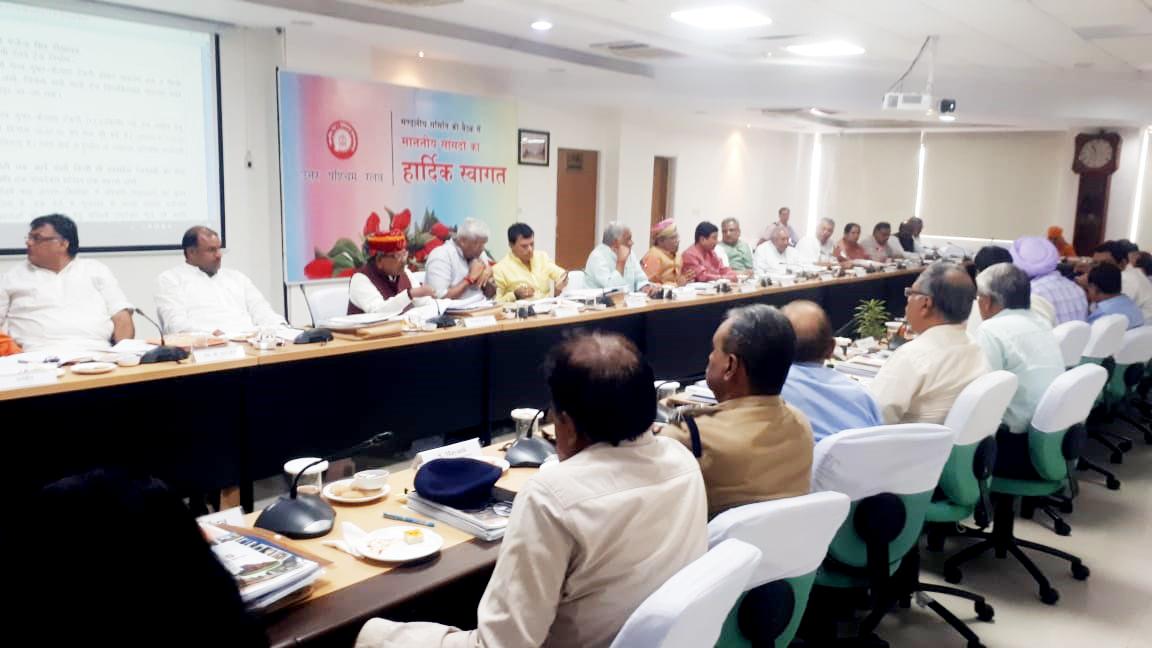 सांसद जोशी रेलवे की जोनल बैठक में हुए सम्मिलित  रखे समस्या और सुझाव