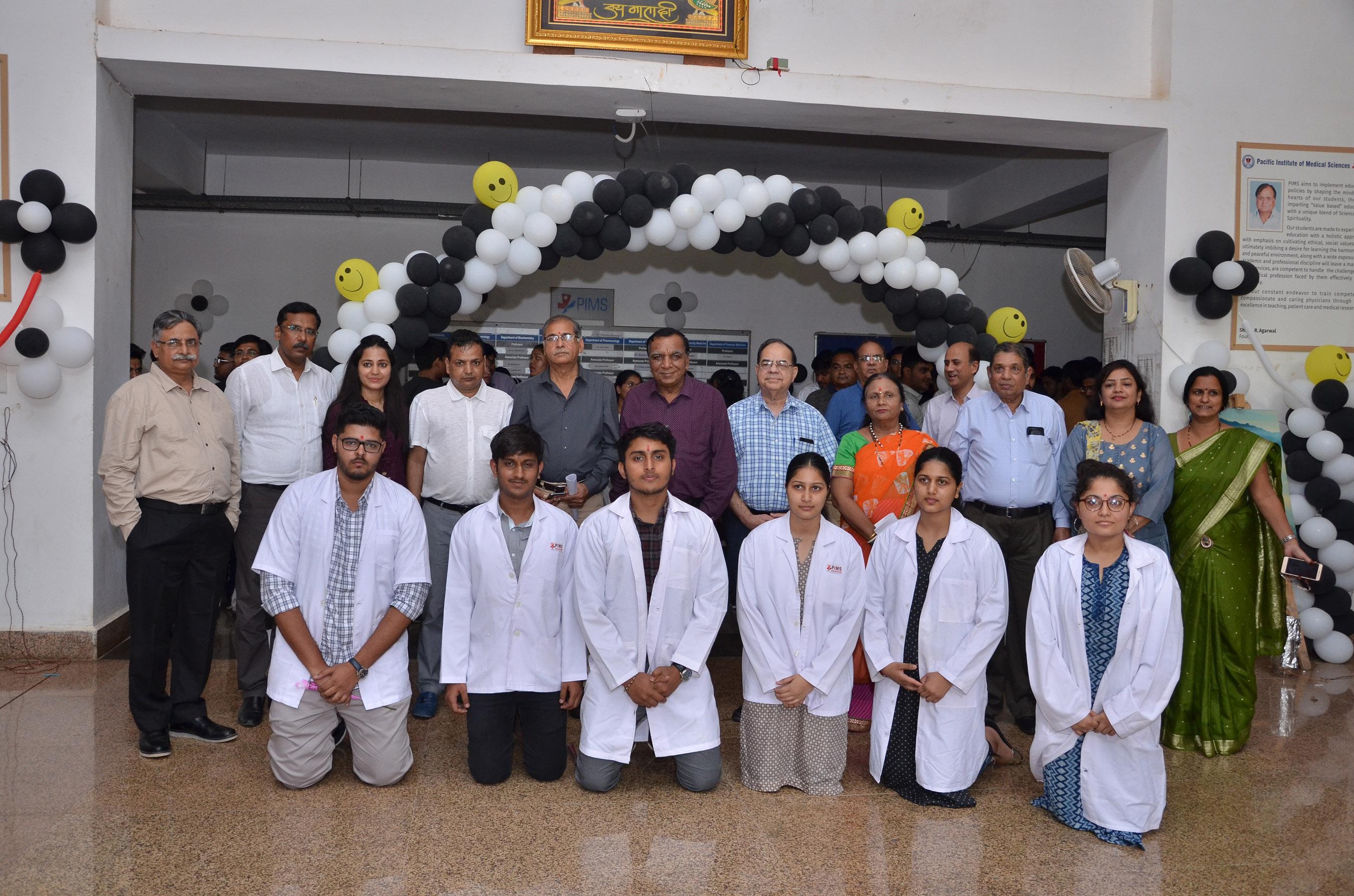 PIMS-नये छात्रों का प्रवेशोत्सव