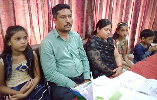 पुलिस ने उचित कार्रवाई नहीं की तो अमरण अनशन पर बैठेगा परिवार