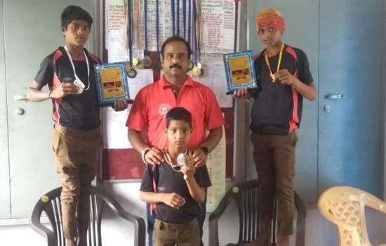 13वीं सब जूनियर स्टेट वुषु में कैफ को रजत व सुरेन्द्र मीणा को कांस्य पदक