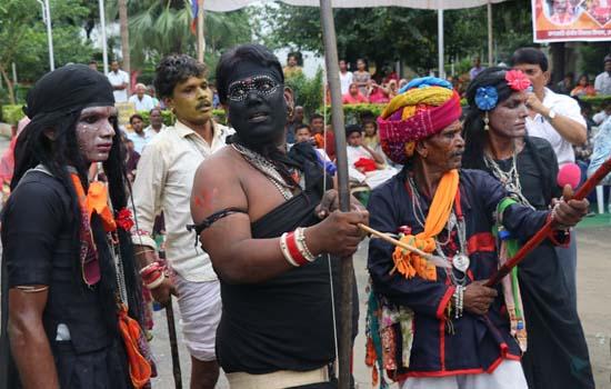 भारतीय लोक कला मण्डल में  गवरी नृत्य समारोह का समापन