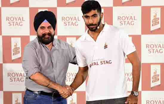 Seagram's Royal Stag strengthens its dream team with Jasprit Bumrah