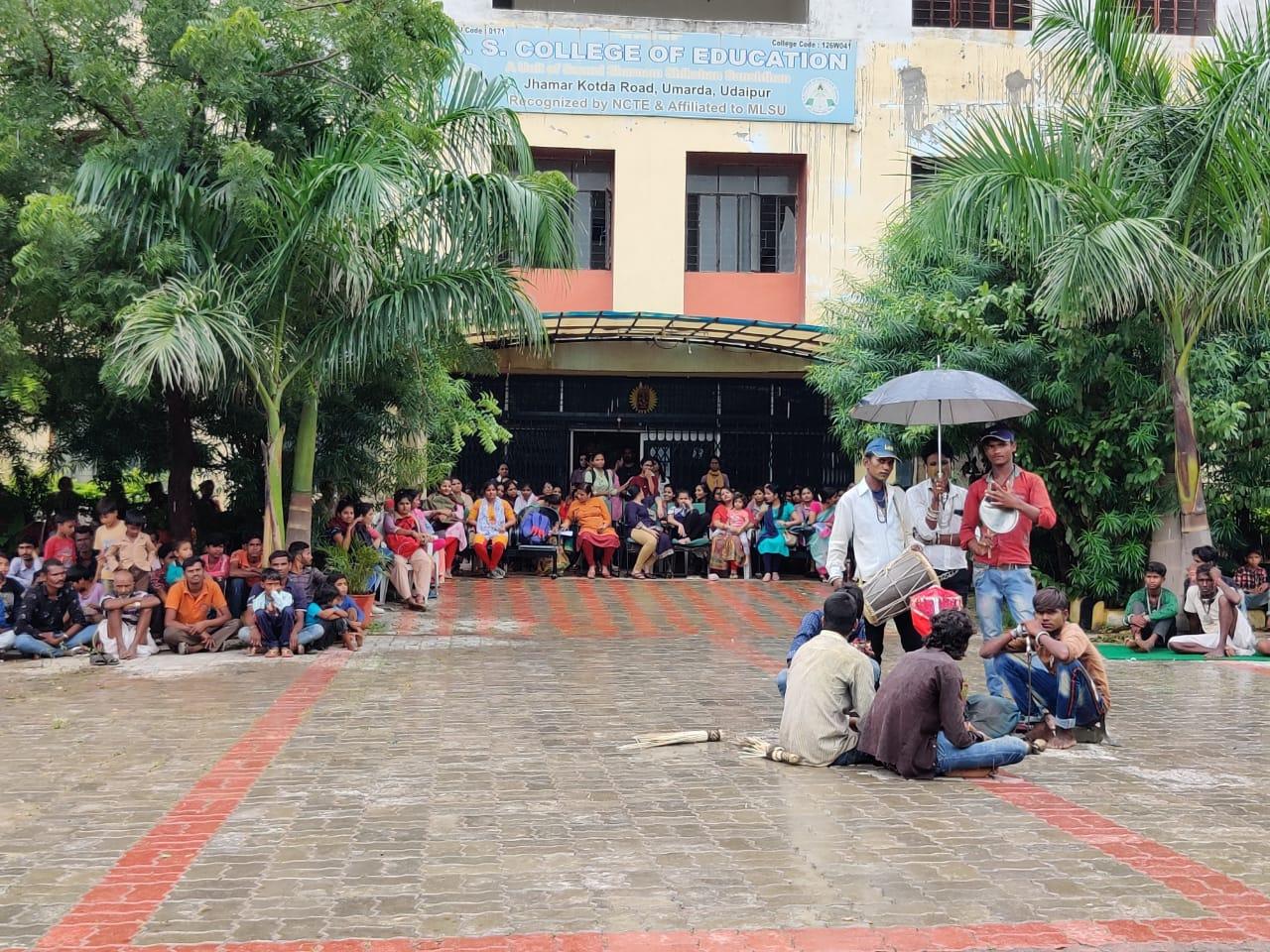 पारम्परिक लोकनृत्य गवरी का आयोजन