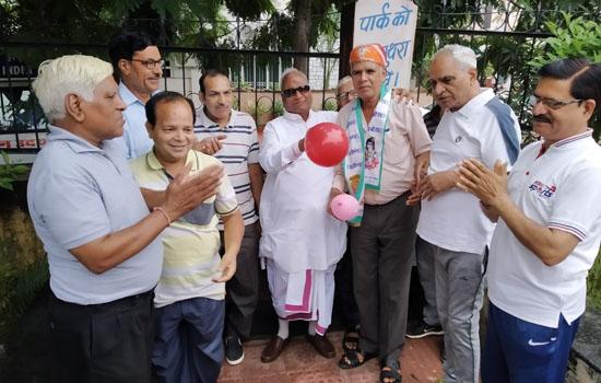 डॉ. दिलखुश सेठ का सम्मान