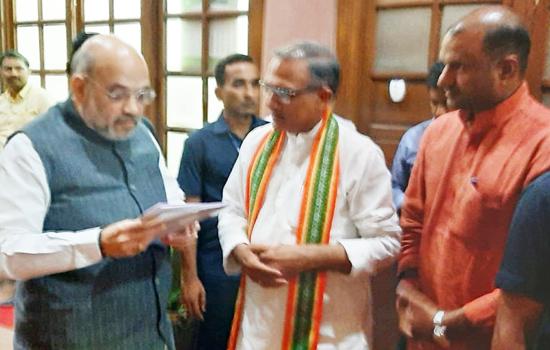 सांसद जोशी ने गृह मंत्री अमित शाह से मिलकर क्षेत्र की प्राकृतिक आपदाओं से कराया अवगत