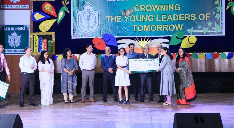 डीपीएस, उदयपुर में शिक्षक एवं मेधावी विद्यार्थियों का प्रतिभा सम्मान समारोह