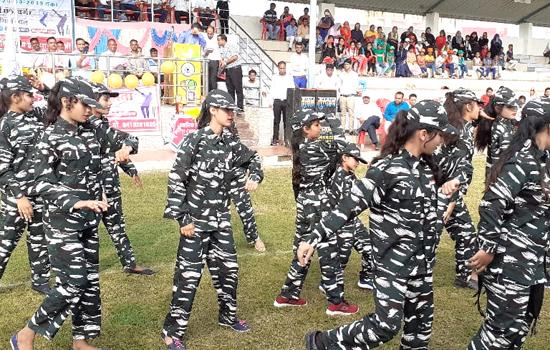 64वीं राज्य स्तरीय स्कूली क्रिकेट प्रतियोगिता का आगाज