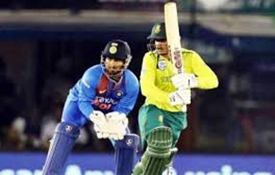 भारत ने दक्षिण अफ्रीका को जीत के लिए 135 रन का लक्ष्य दिया