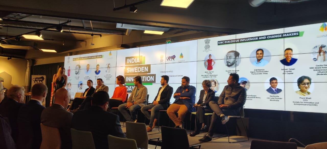 राज बोर्दिया ने इंडिया स्वीडन इनोवेशन डे प्रोग्राम में किया प्रतिनिधित्व